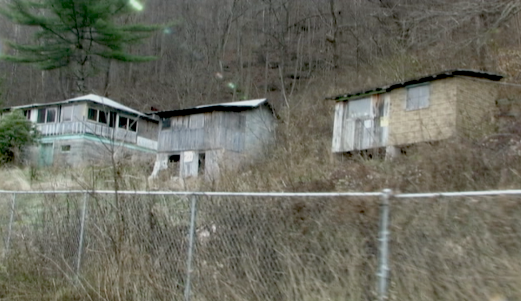 Properties managed by the National Park Service. After years of neglect, the homes are rotting along the Scenic Byway, New River, West Virginia.